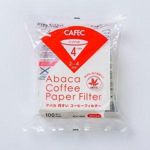 画像1: CAFEC「アバカ円すいフィルター 2-4杯用(3-4人用)」(100枚入)